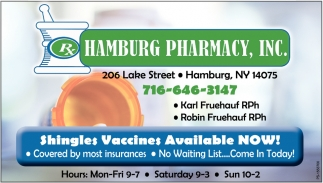 Shingles Vaccines Available Now!