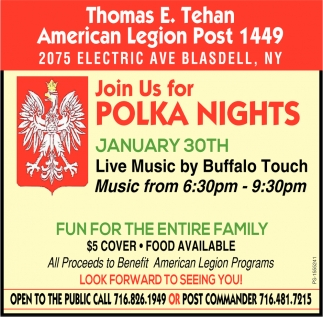 Join Us For Polka Nights