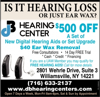 Is It Hearing Loss Or Just Ear Wax?