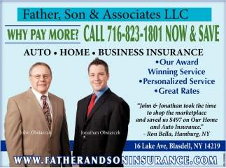 Auto - Home - Business Insurance