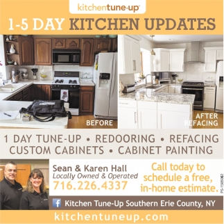 1-5 Day Kitchen Updates