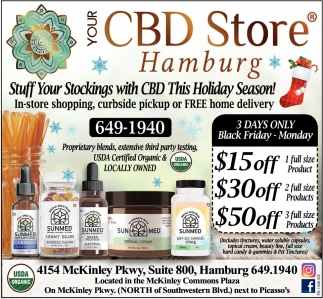 Stuff Your Stockings With CBD This Holiday Season!