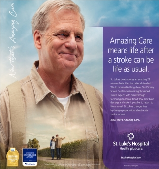 Amazing Care means life after a stroke can be life as usual