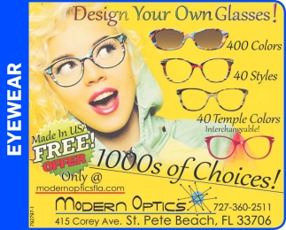 Design Your Own Glasses!