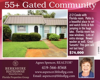 55+ Gated Community