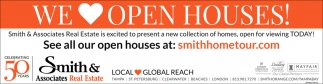 See All Our Open Houses