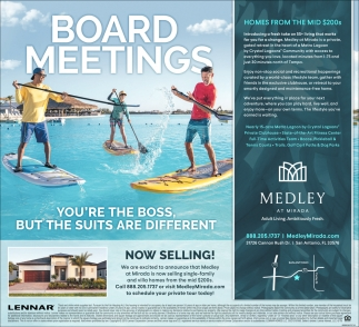 BOARD MEETINGS