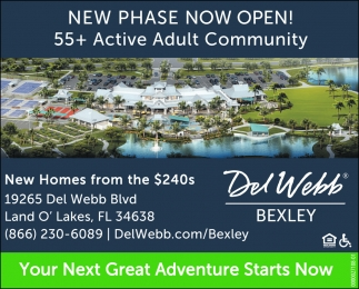 NEW PHASE OPENING OCTOBER
