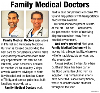 Family Medical Doctors