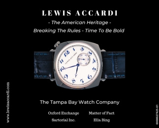 Tampa Bay's Watch Company