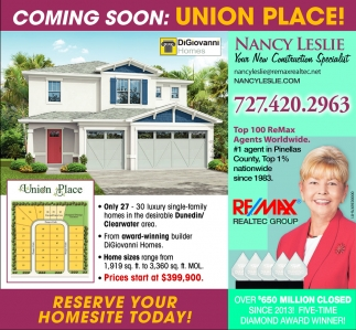 COMING SOON: UNION PLACE!
