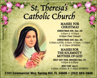 MASSES FOR CHRISTMAS