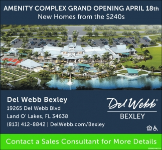 AMENITY COMPLEX GRAND OPENING