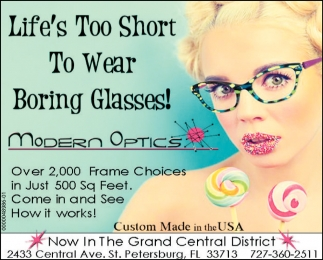 Life's Too Short To Wear Boring Glasses!