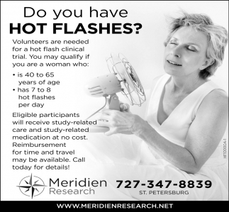 Do You Have Hot Flashes?