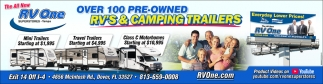 RV'S & CAMPING TRAILERS