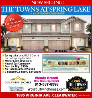 THE TOWNS AT SPRING LAKE