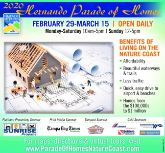 2020 Hernando Parade Of Homes