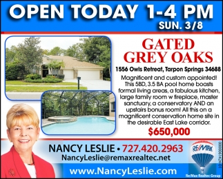 Gated Grey Oaks
