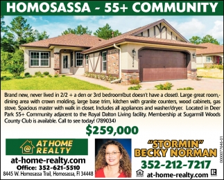 Homosassa - 55+ Community