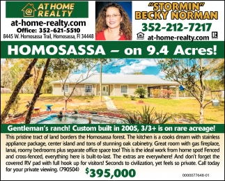 Homosassa - On 9.4 Acres!