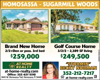 Homosassa - Sugarmill Woods