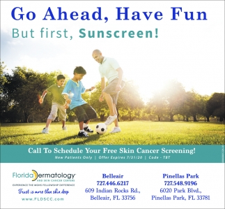 Go Ahead, Have Fun But First, Sunscreen!