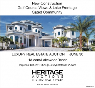 Luxury Real Estate Auction