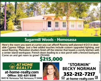 Sugarmill Woods - Homosassa