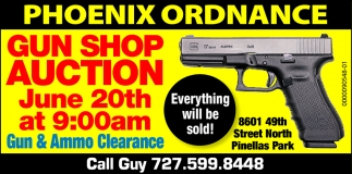 Gun Shop Auction June 20th