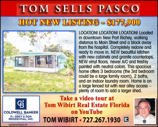 Tom Sells Pasco