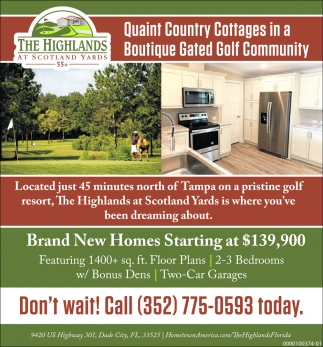 Brand New Homes Starting At $139,900