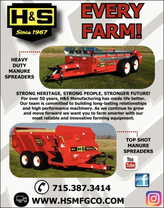 Every Farm H S Manufacturing Marshfield Wi