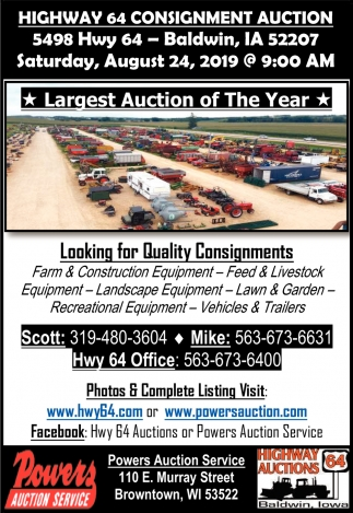 Largest Auction of the Year