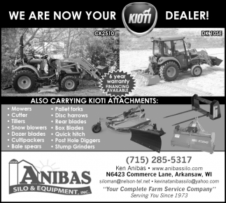 We Are Now Your Kioti Dealer
