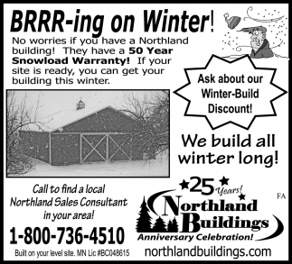 Winter-Build Discount