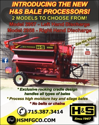 New H&S Bale Processors
