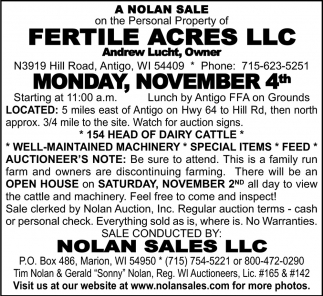 Fertile Acres LLC
