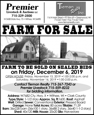 Farm for Sale