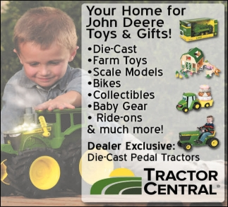 Your Home for John Deere Toys & Gifts!