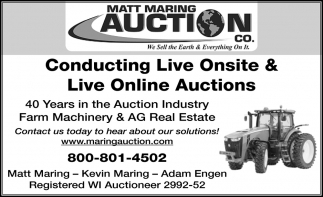 Conducting Live Onsite & Live Online Auctions
