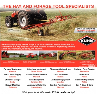 The Hay and Forage Tool Specialists