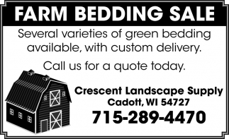 Farm Bedding Sale