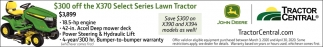 X370 Select Series Lawn Tractor