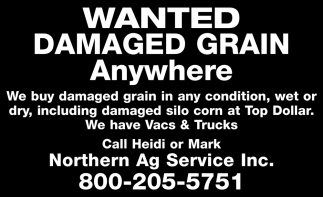 Wanted Damaged Grain Anywhere