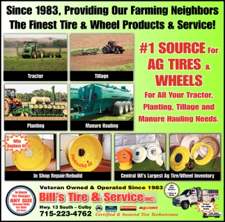 #1 Source For Ag Tires & Wheels