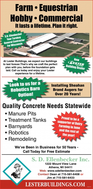 Quality Concrete Needs Statewide