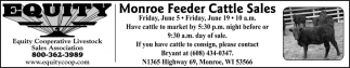 Monroe Feeder Cattle Sales