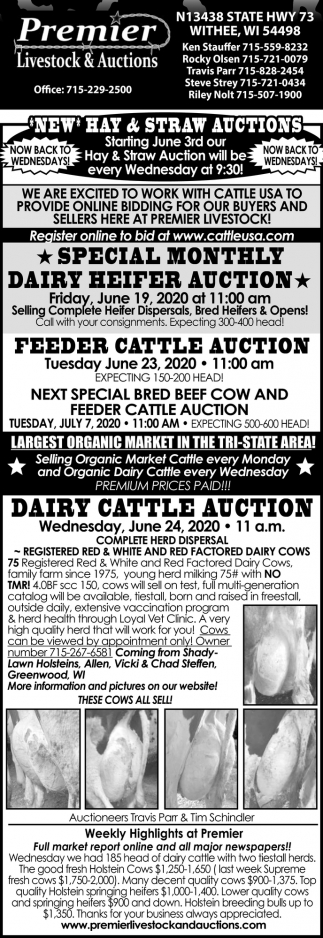 Hay & Straw Auctions