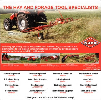 They Hay And Forage Tool Specialists